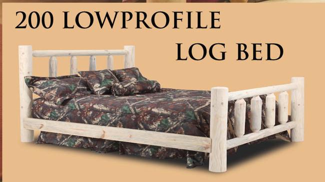 200 Log Bed