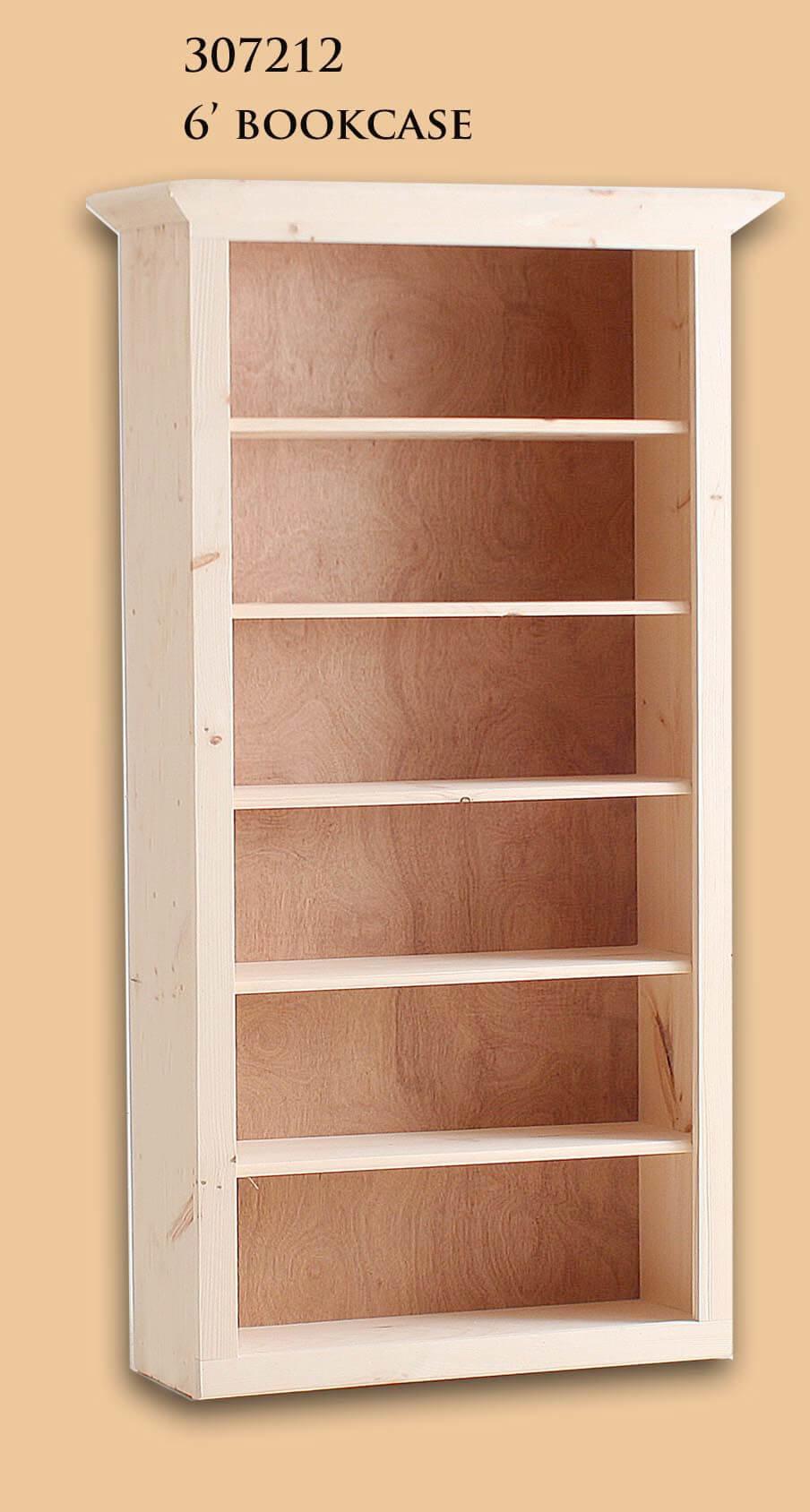 307212 6 Bookcase
