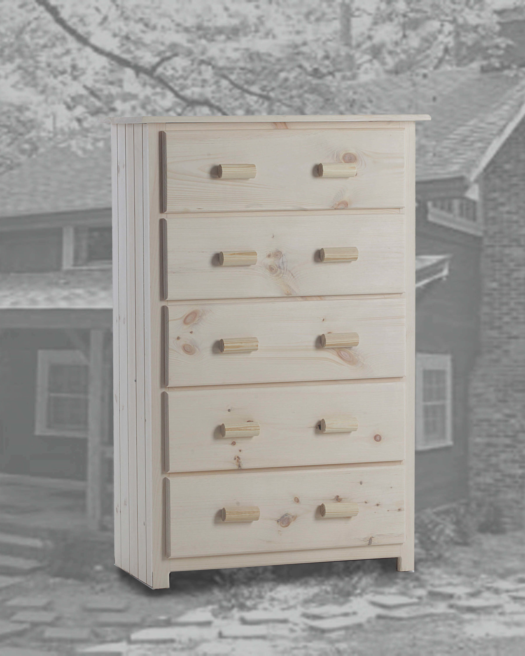 5 Drawer Super Cabin Style