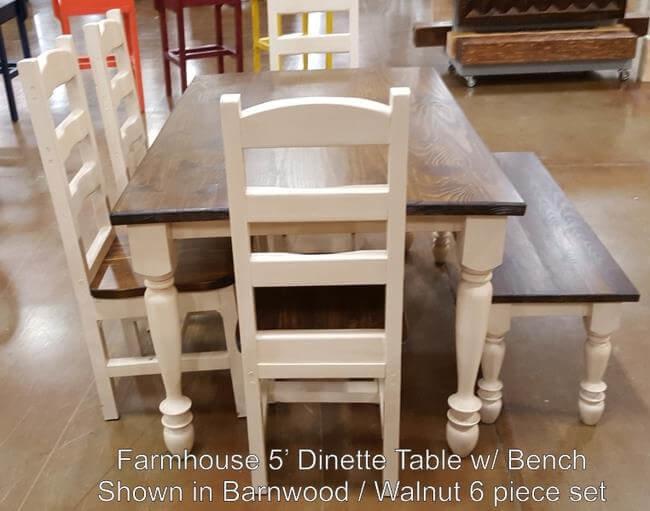 Farmhouse 5 Dinette