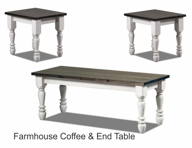 Farmhouse Coffee And End Table JPEG