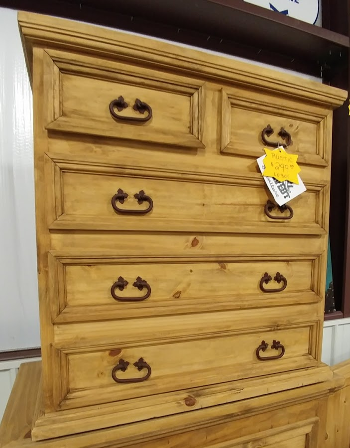 MDR10A162B - Chest Lowboy 5 Drawer Natural Wood