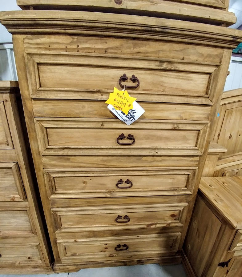 MDR10A237B - Chest Tall 5 Drawer Natural Wood