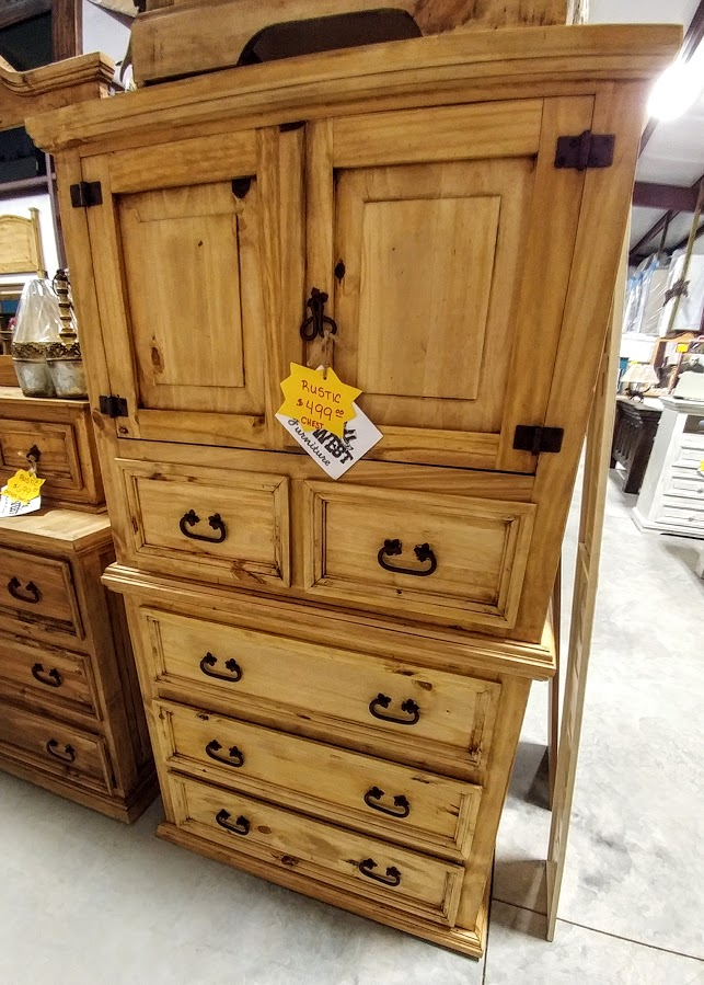 MDR10A274B - Chest Old West 2 Door Natural Wood