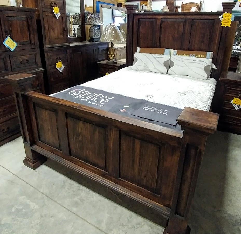 MDR15A274B - Bed Queen Oasis Dark Wood