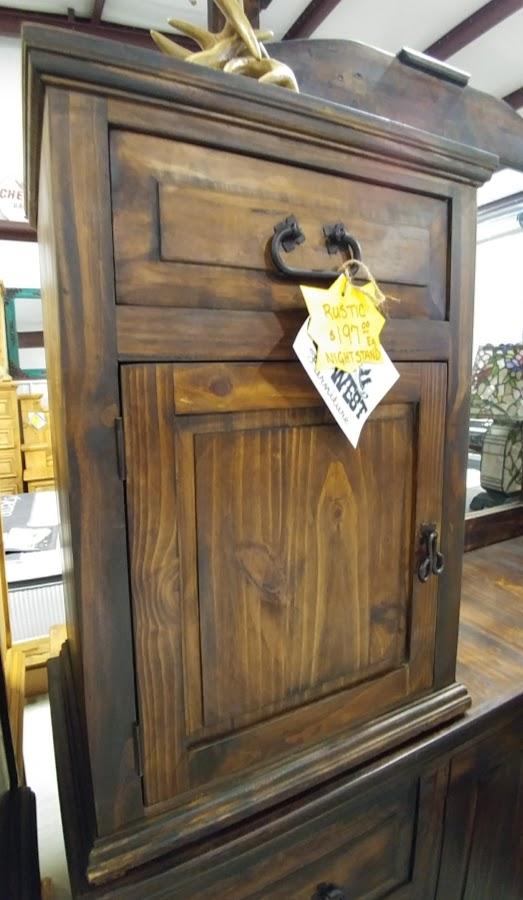 MDR15A50B - 1 Drawer 1 Door Night Stand Dark Wood