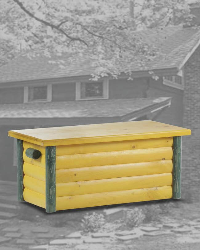 Ranch Hope Chest Green And Yellow
