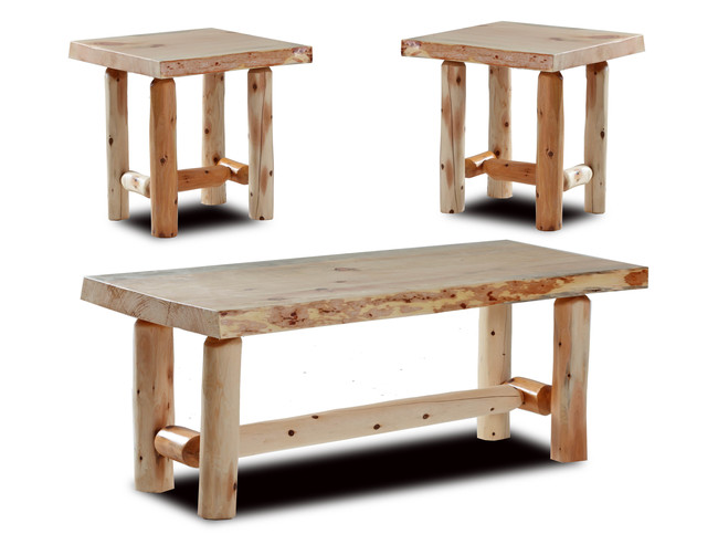 Rustic Coffee & End Tables