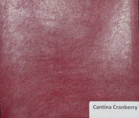 Cantina Cranberry Faux Leather