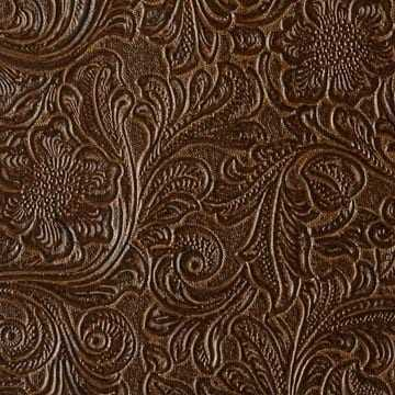 Monterey Mink Hand Tooled Leather