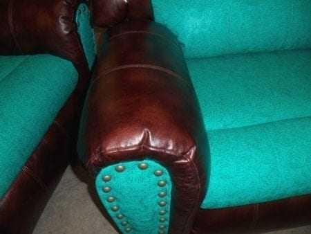 #3287 Kobe Cognac w/Laredo Turquoise - Udder Madness