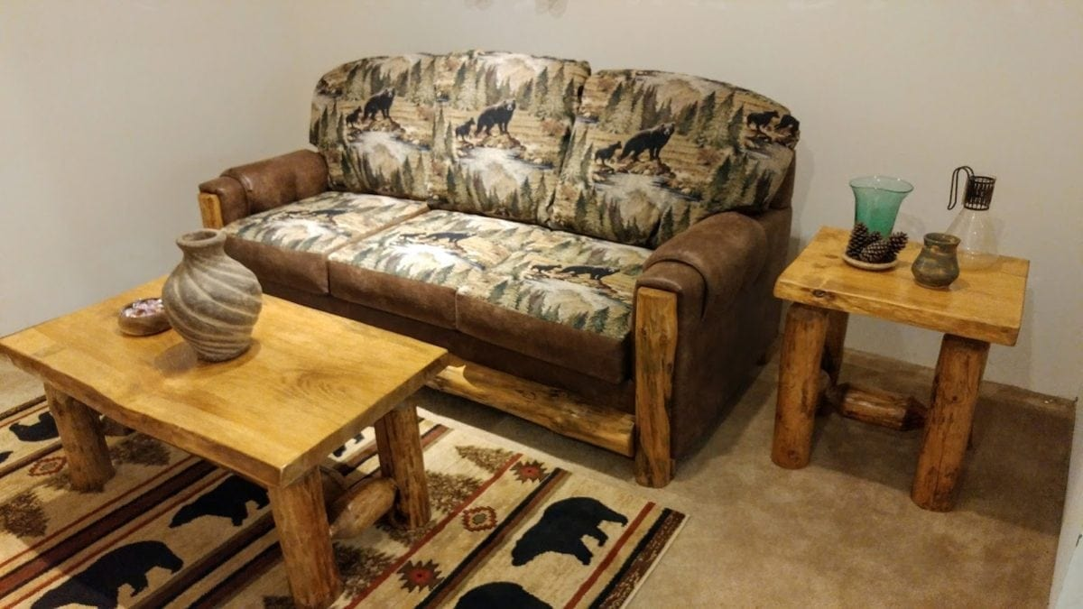 Log Furniture 1 Cabin Lodge Living Room Furniture Fort Payne